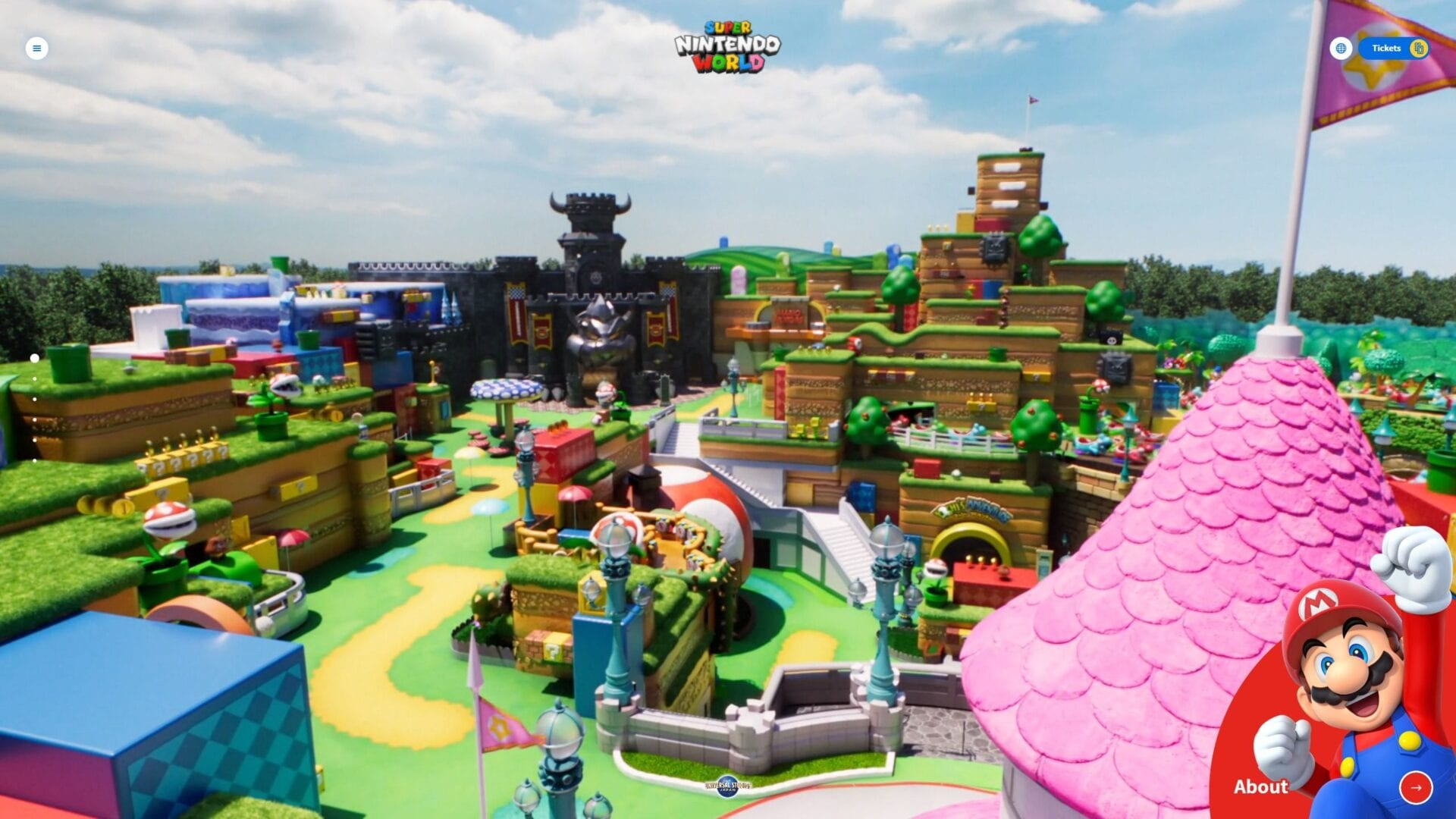 Tremendous Nintendo World Official Web site Opens Displaying Off Its Sights 1