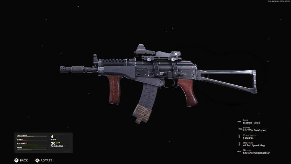 black ops cold war best ak74u loadout
