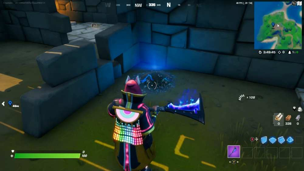 fortnite fort crumpet gnome location