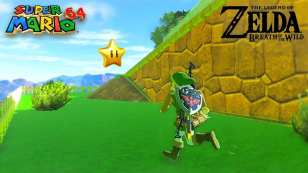 super mario 64, breath of the wild