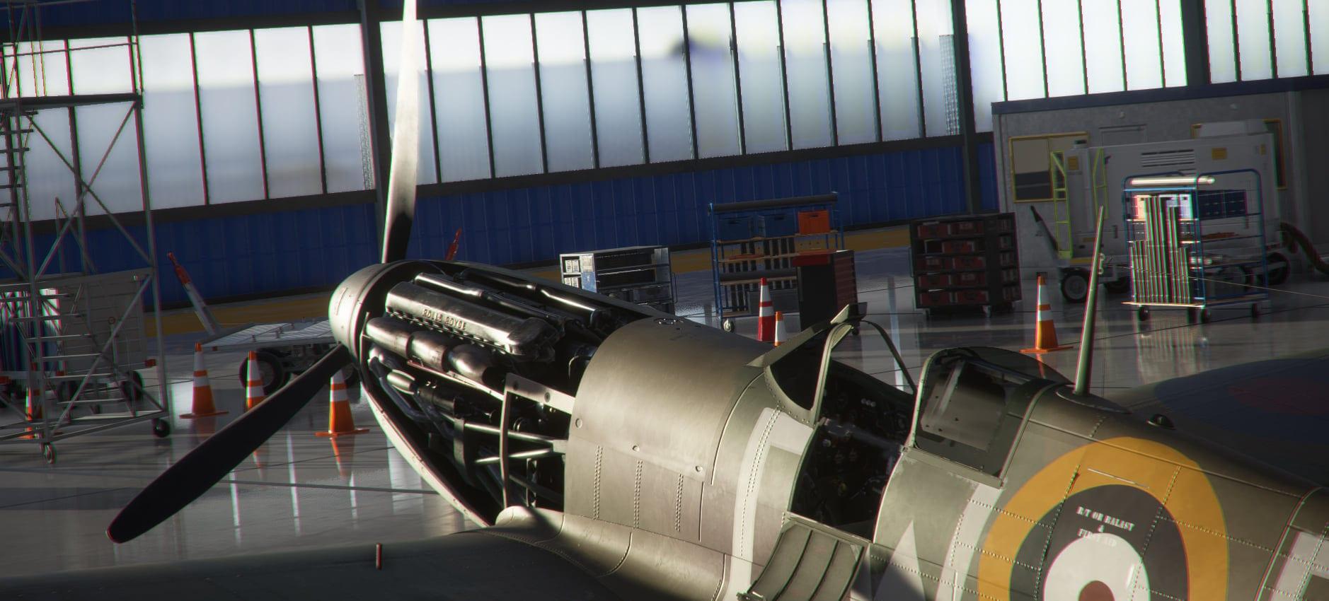 Microsoft Flight Simulator Spitfire Reveals The Legendary Rolls-Royce Merlin; Simarc Teases Faisalabad - Twinfinite