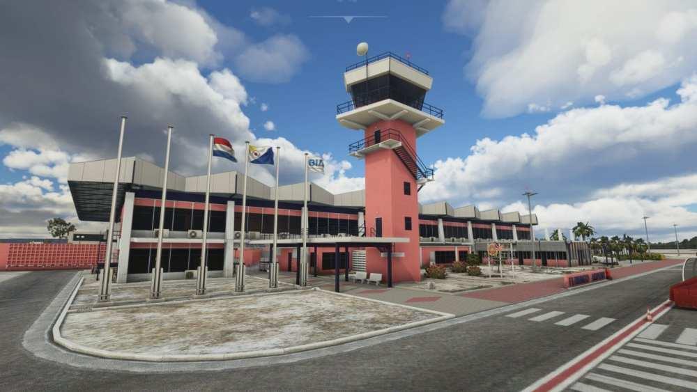Microsoft Flight Simulator Bonaire Flamingo Airport