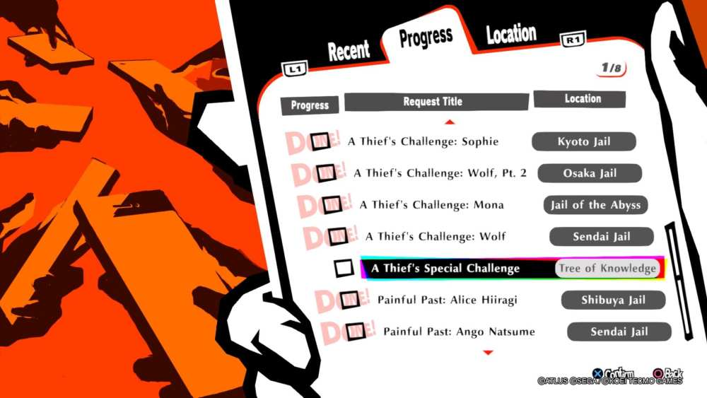 Persona 5 Strikers, Every Cooking Recipe Location