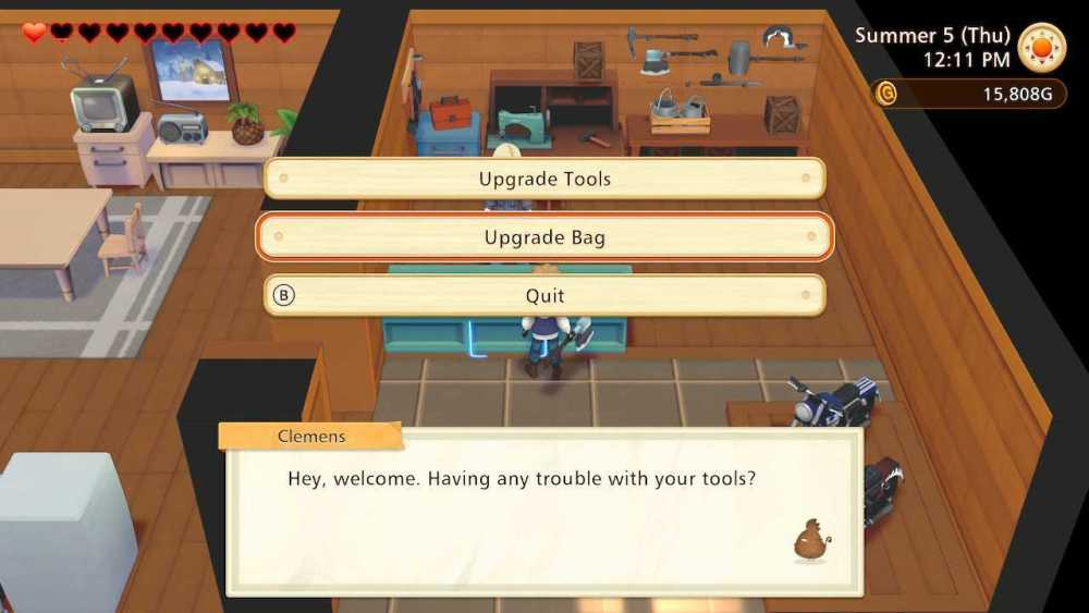 story of seasons pioneers of olive town carry capacity