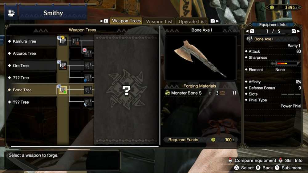 monster hunter rise upgrade weapons