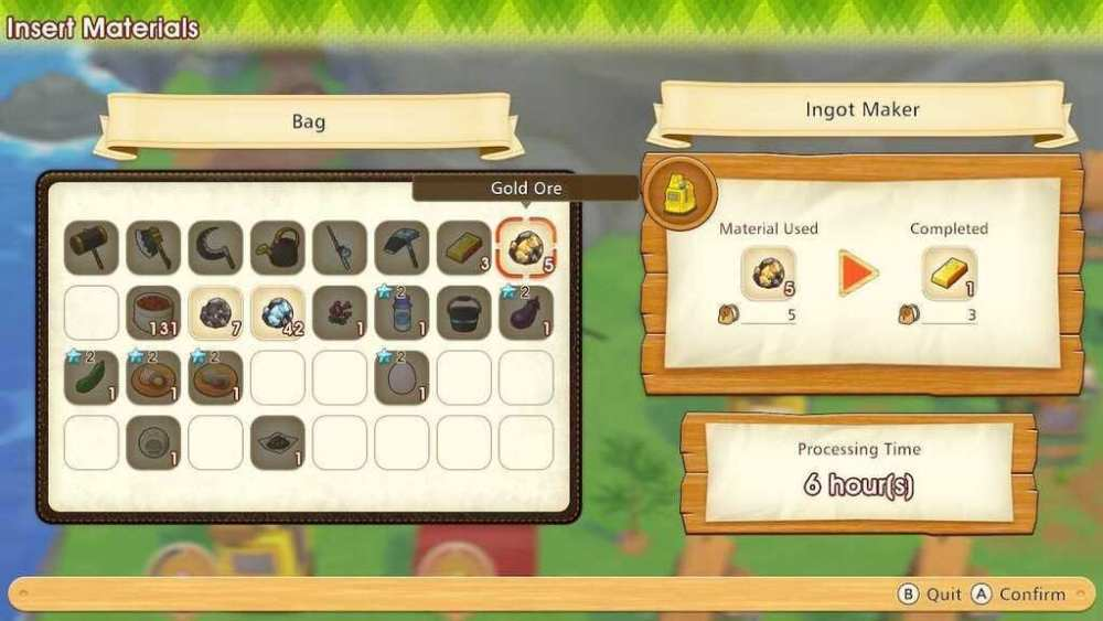 Gold Ingots Story of Seasons: Pioneers of Olive Town