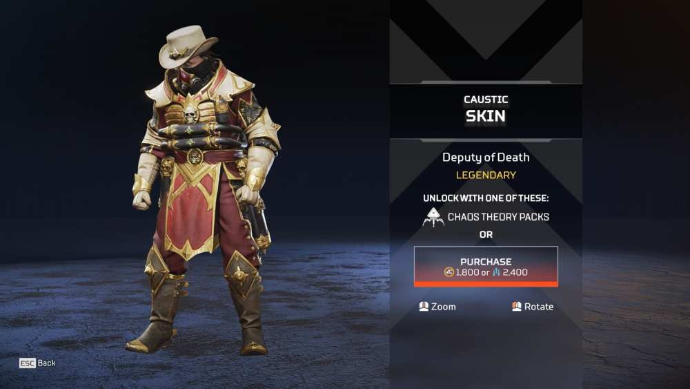 apex legends chaos theory skins