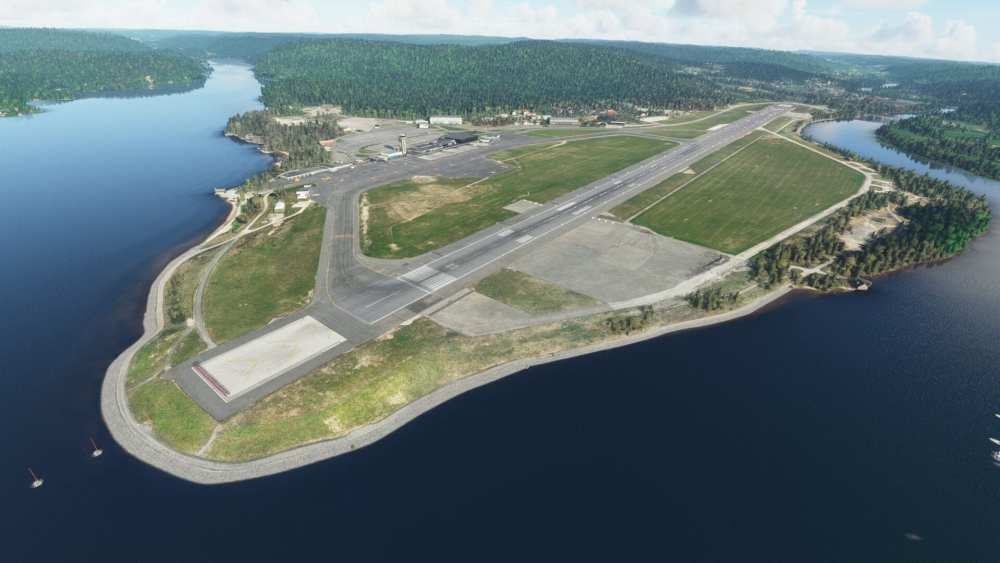 Microsoft Flight Simulator Kristiansand Airport Review