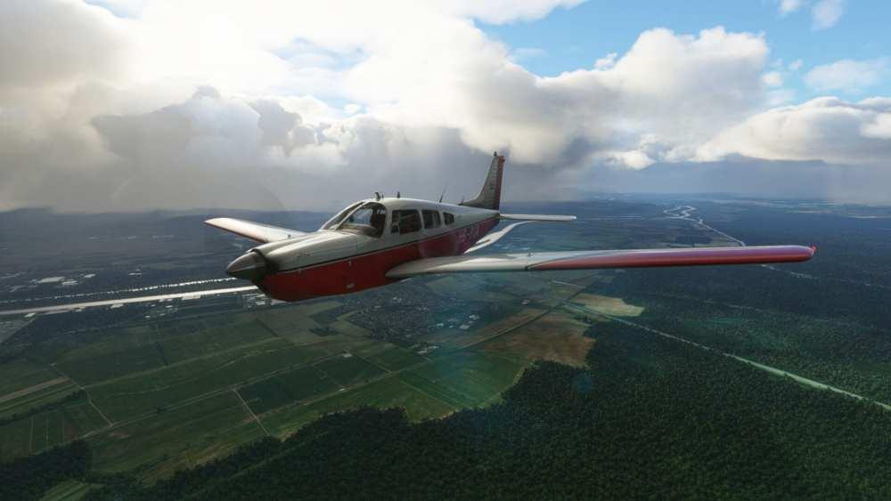 Microsoft Flight Simulator PA-28R Arrow III