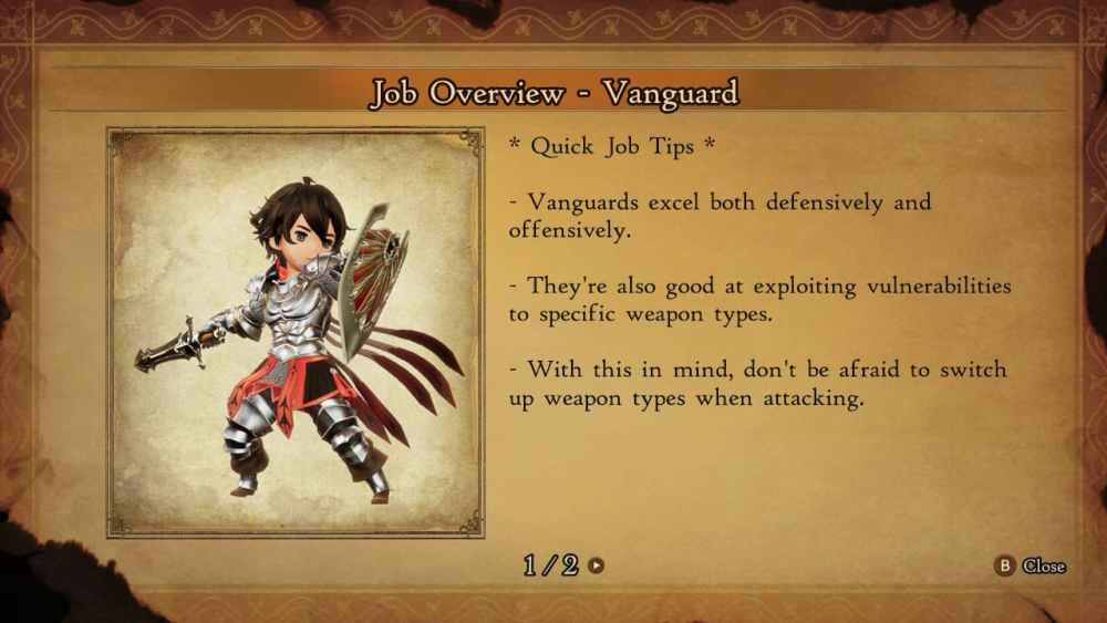 Bravely Default 2 Best Job Combinations