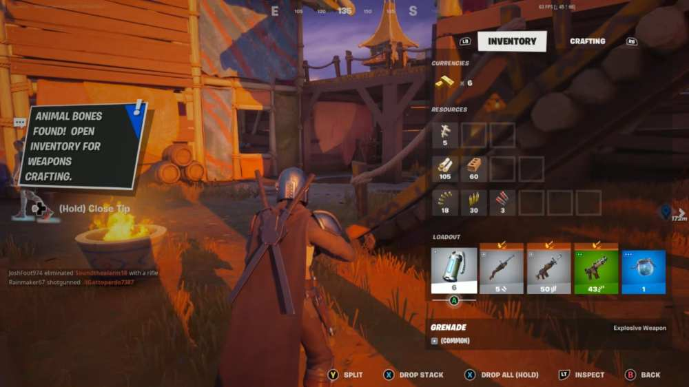 fortnite craft weapons