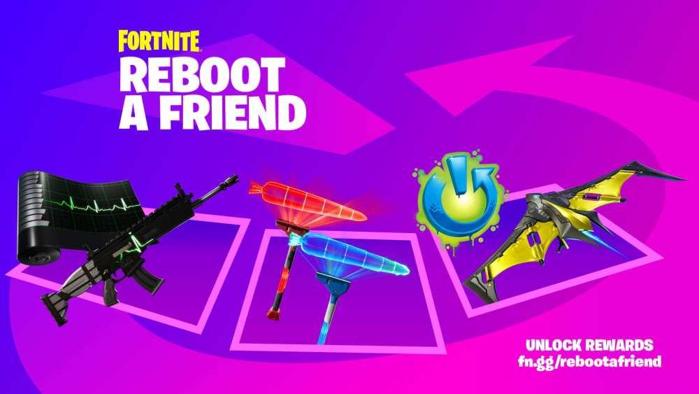 Fortnite reboot a friend rewards