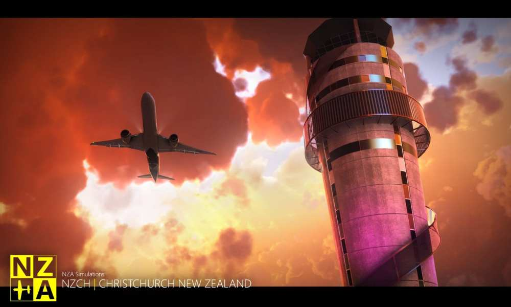 Microsoft Flight Simulator – Christchurch Airport Announced; 3 Mexican Airports Released, F-35, Moscow & More Get New Screenshots