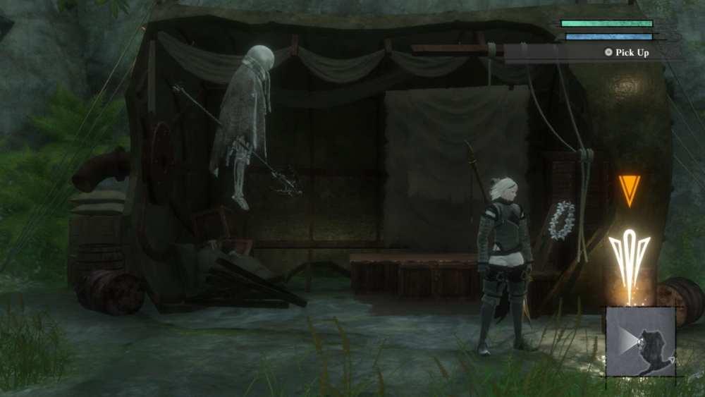 nier replicant kaine's sword