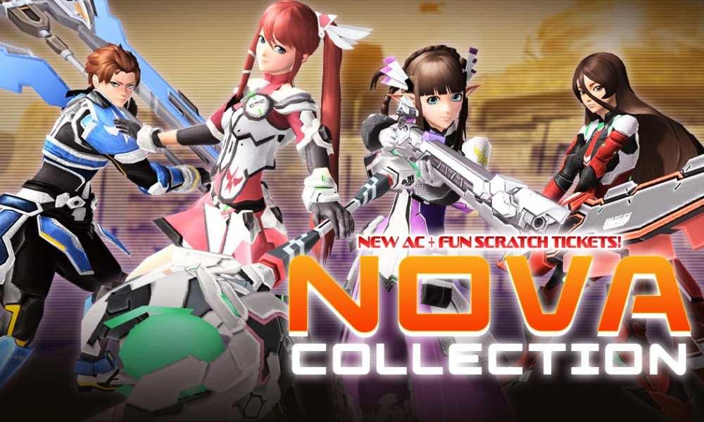 Phantasy Star Online 2 Reveals Nova Collection AC Scratch