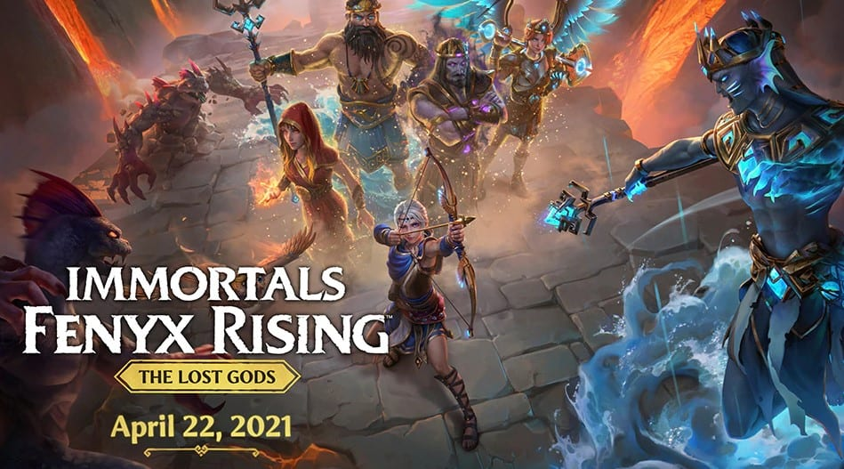 Ubisoft Dates Immortals Fenyx Rising the Lost Gods DLC