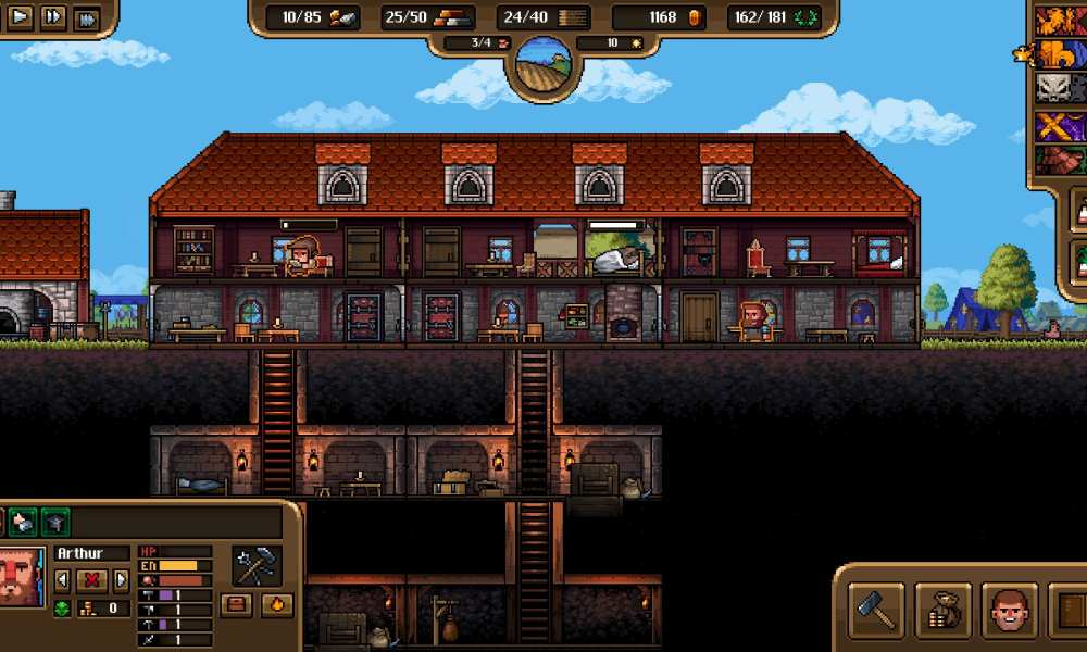 Anvil Saga Is a Charming Management Game that Lets You Build Your Own Blacksmith Enterprise