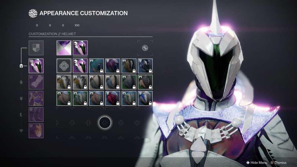 Destiny 2, Armor Synthesis