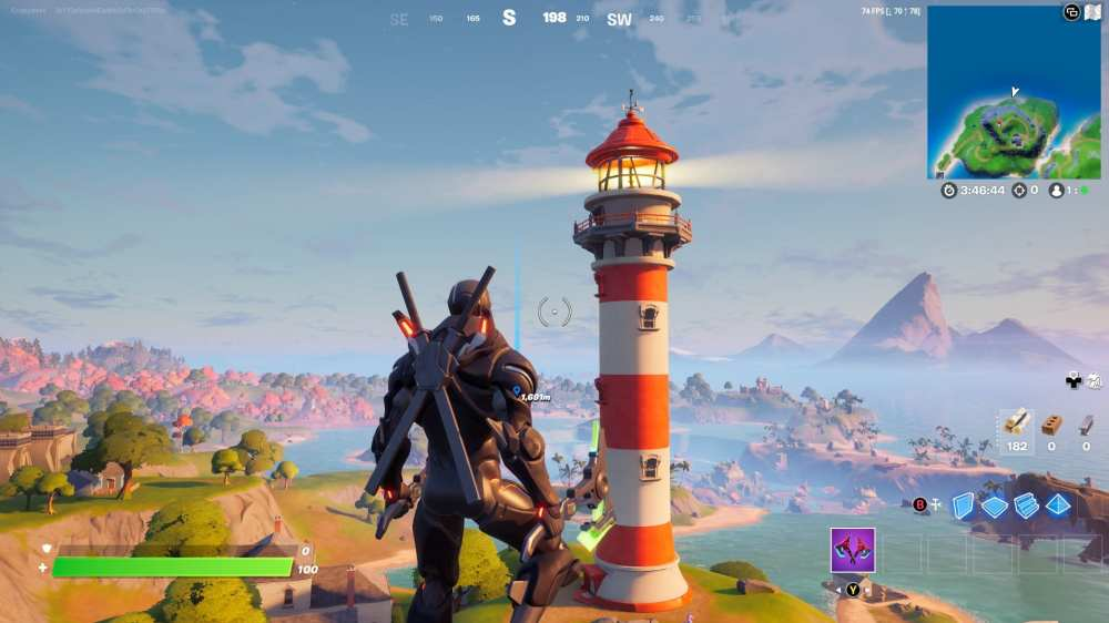 Fortnite Lockie's Lighthouse