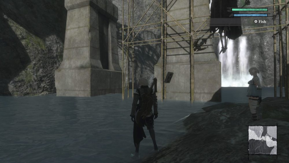 Nier Replicant How to Catch Rainbow Trout