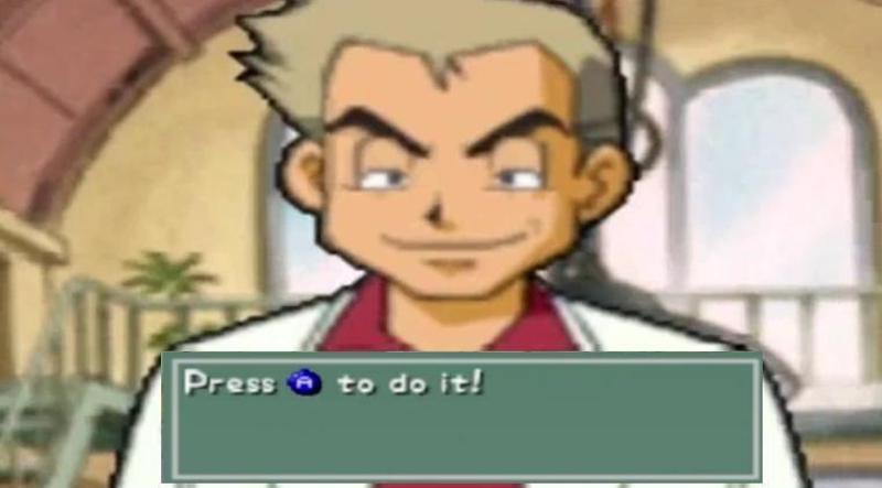 Pokemon Snap Professor Oak
