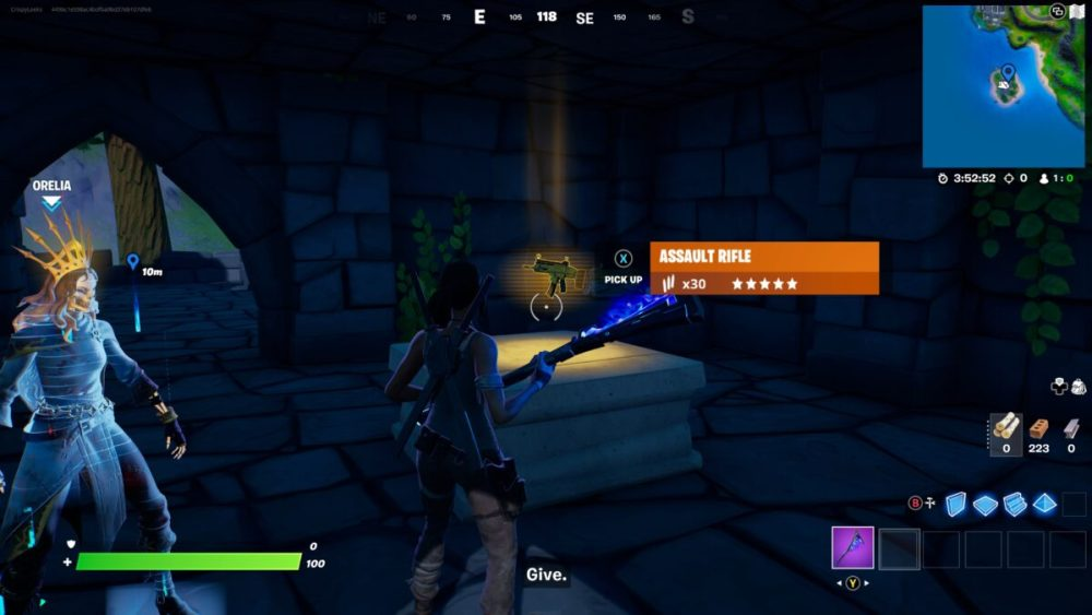 how to get gold lara croft in fortnite