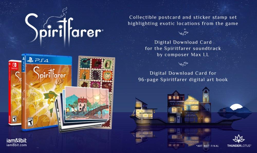 spiritfarer physical edition