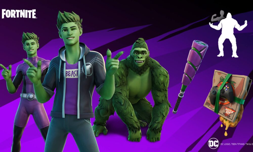 Fortnite Adds DC's Beast Boy This Week Alongside Duos Tournament