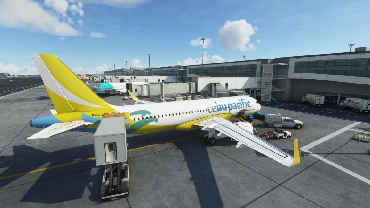 Manila Airport for Microsoft Flight SImulator Critic Review