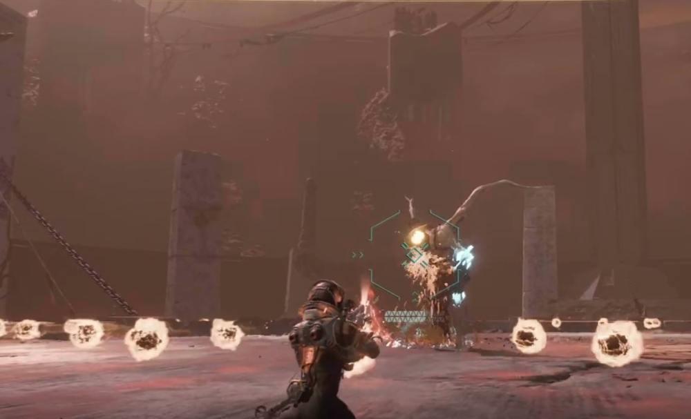 Returnal Ixion Boss Shoot