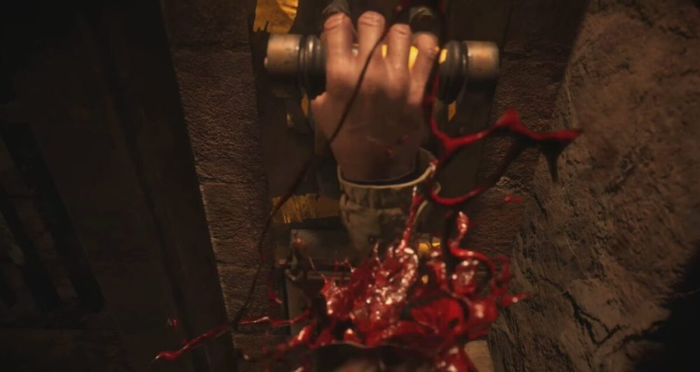Resident Evil Village Ethan's Hands