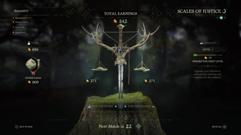 Hood Outlaws & Legends How to Raise Hideout Rank