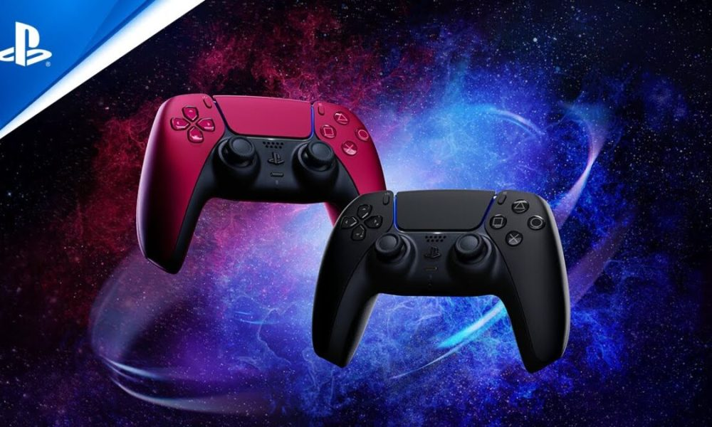 New Midnight Black & Cosmic Red DualSense Colors Announced by PlayStation