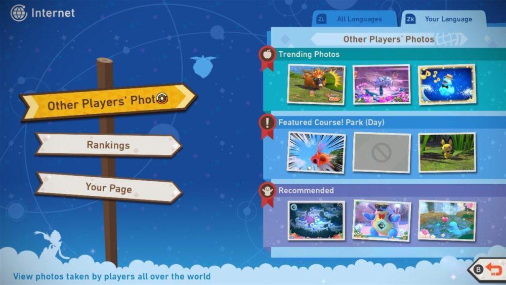 new pokemon snap online