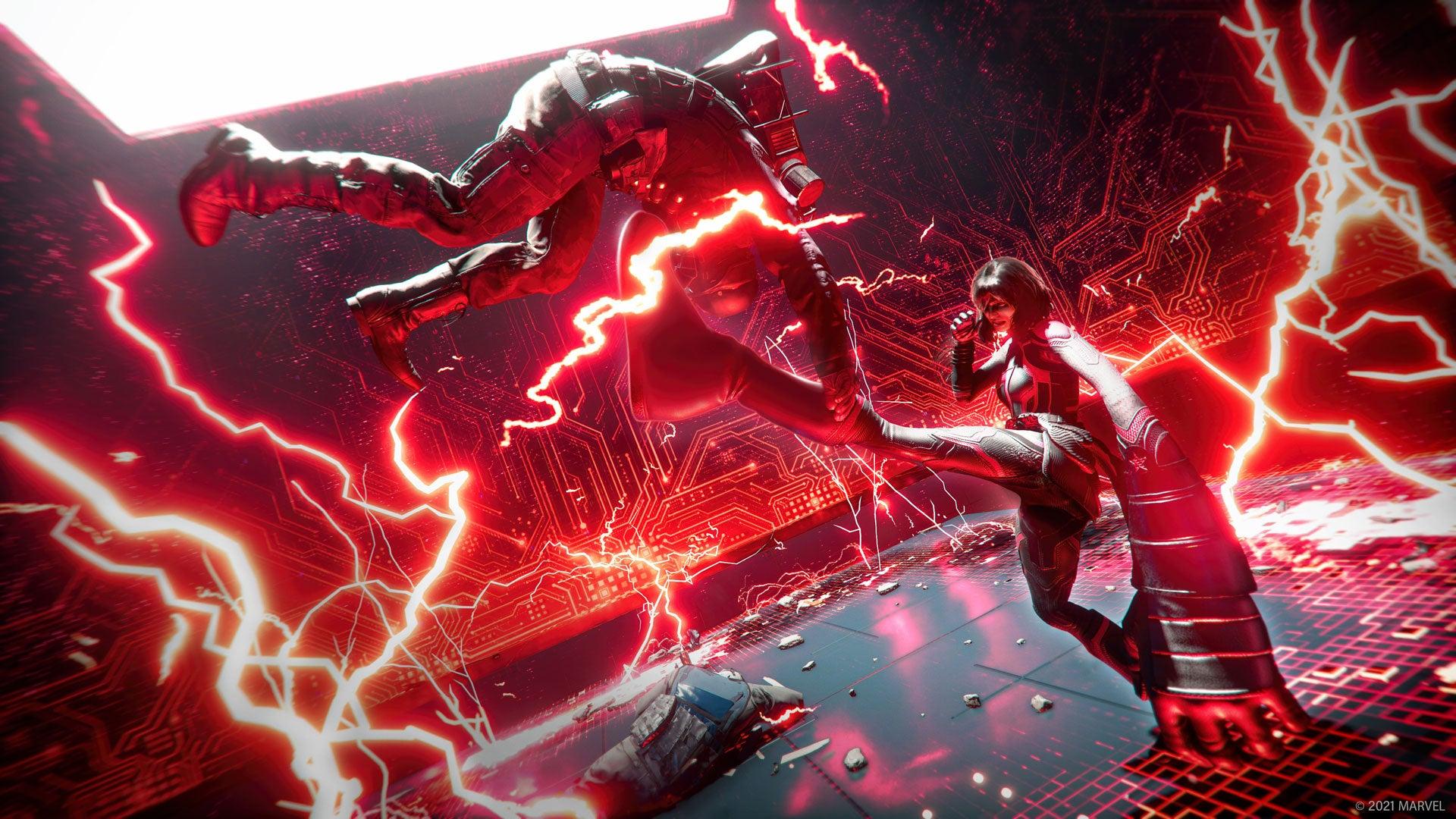 Marvel's Avengers демонстрируют захват красной комнаты в трейлере