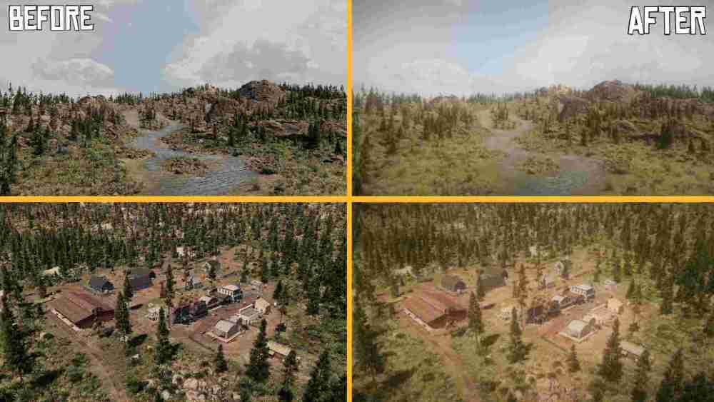 Red Dead Redemption 2, Cities: Skylines