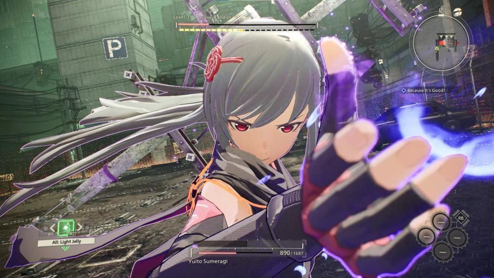 Scarlet Nexus Kasane First Boss Fight