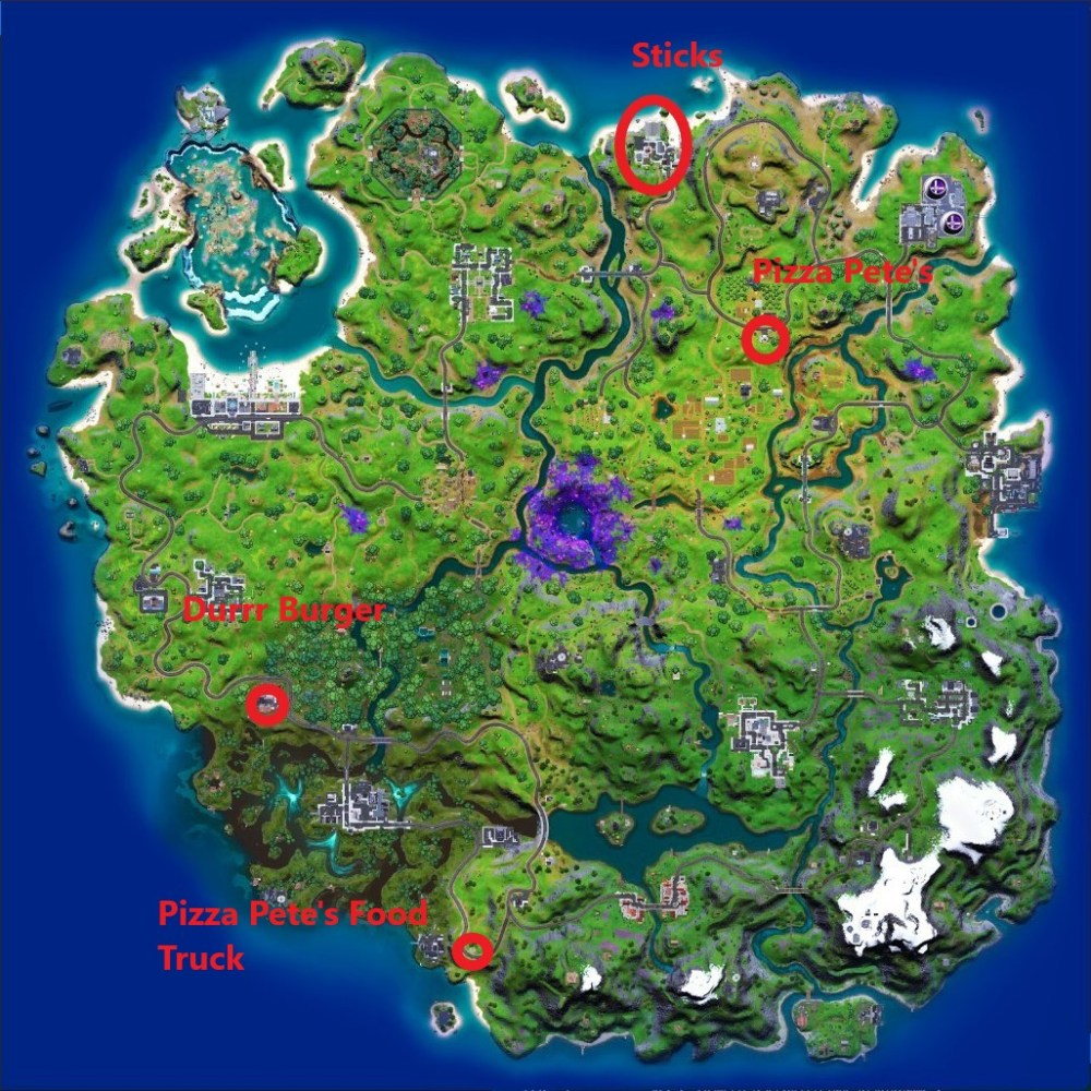 farmer steel's favourite places map