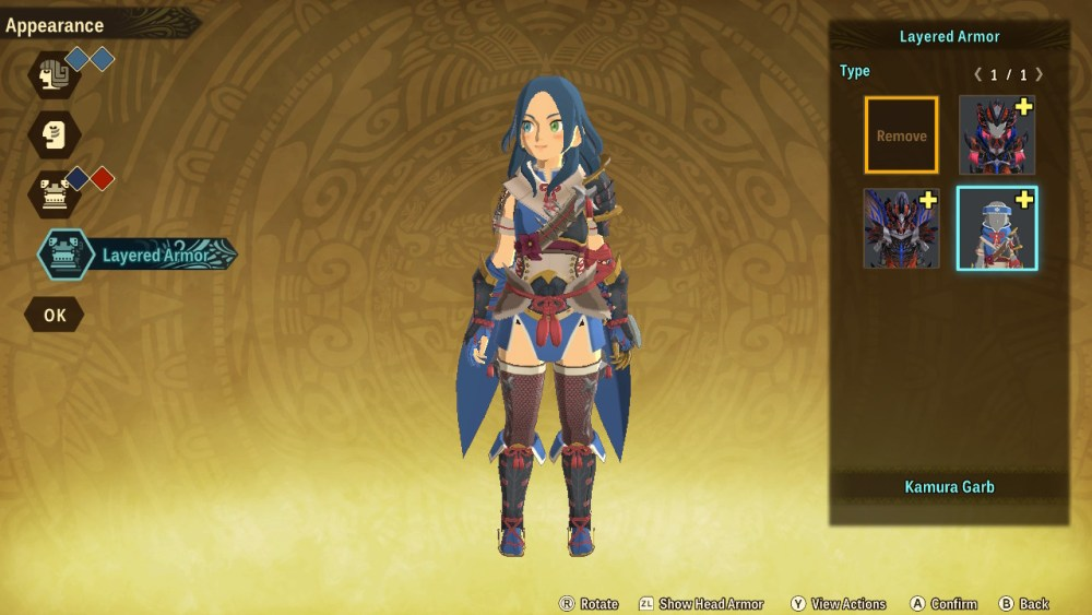 monster hunter stories 2 character appearance