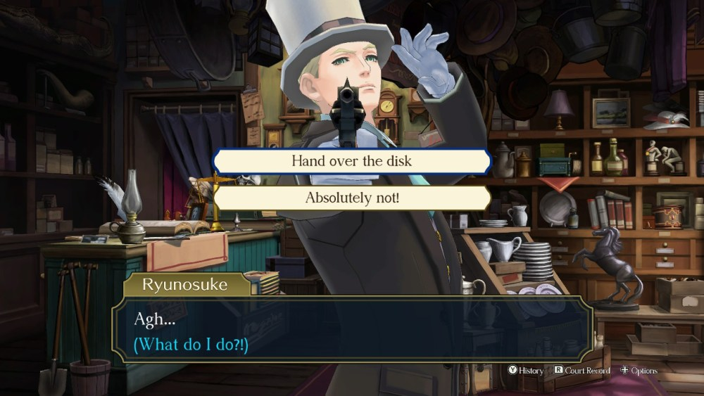 great ace attorney chronicles disk