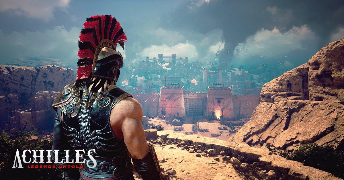 Dark Point Games анонсировала Achilles Legends Untold