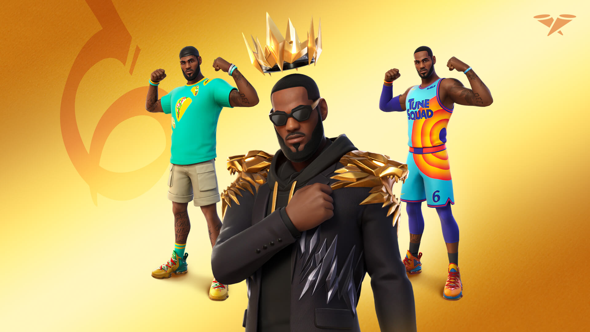 Fortnite добавляет звезду НБА Леброна Джеймса в серию Icon
