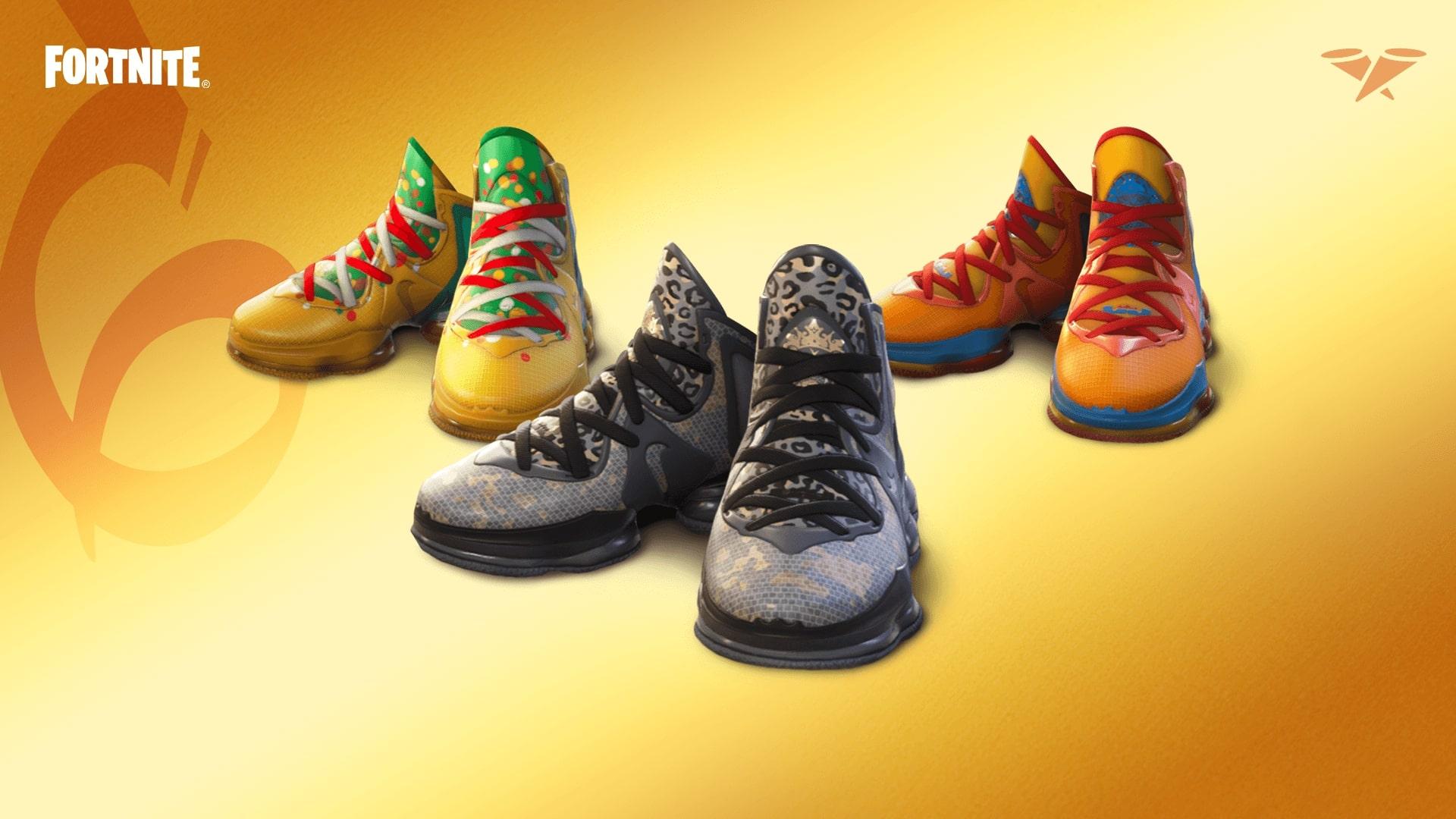 Fortnite LeBron James shoes