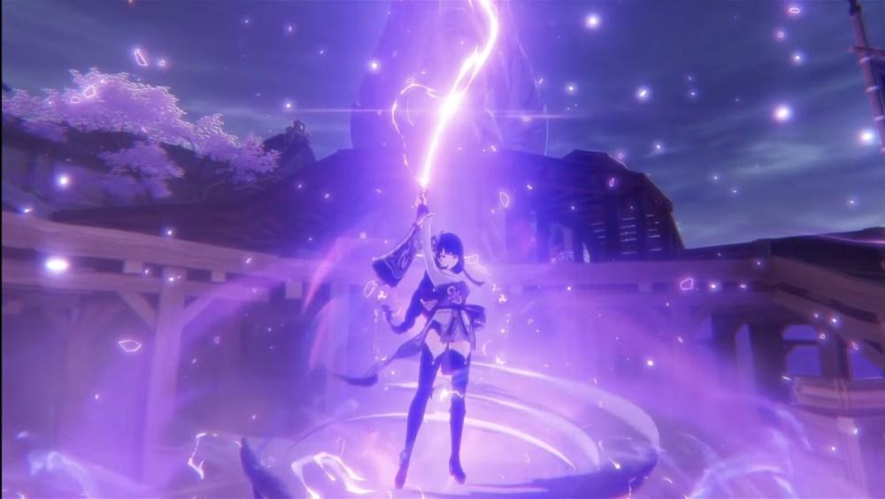 Genshin Impact Baal Attack