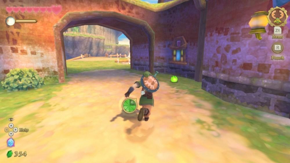 How to Sprint & Run Faster in Legend of Zelda Skyward Sword HD