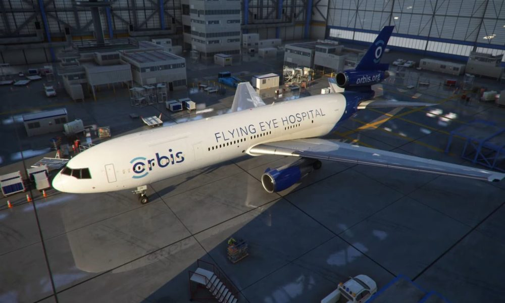 Microsoft Launches Orbis' Flying Eye Hospital For Free in Microsoft Flight Simulator; Also Coming to Xbox