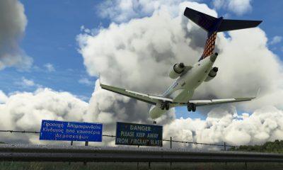 Microsoft Flight Simulator Skiathos