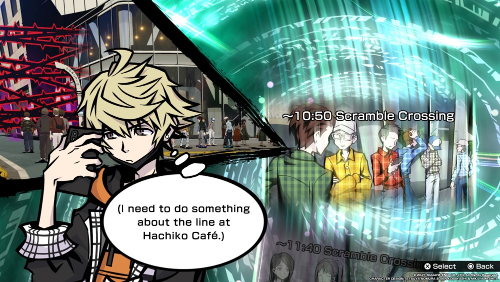 neo the world ends with you time travel