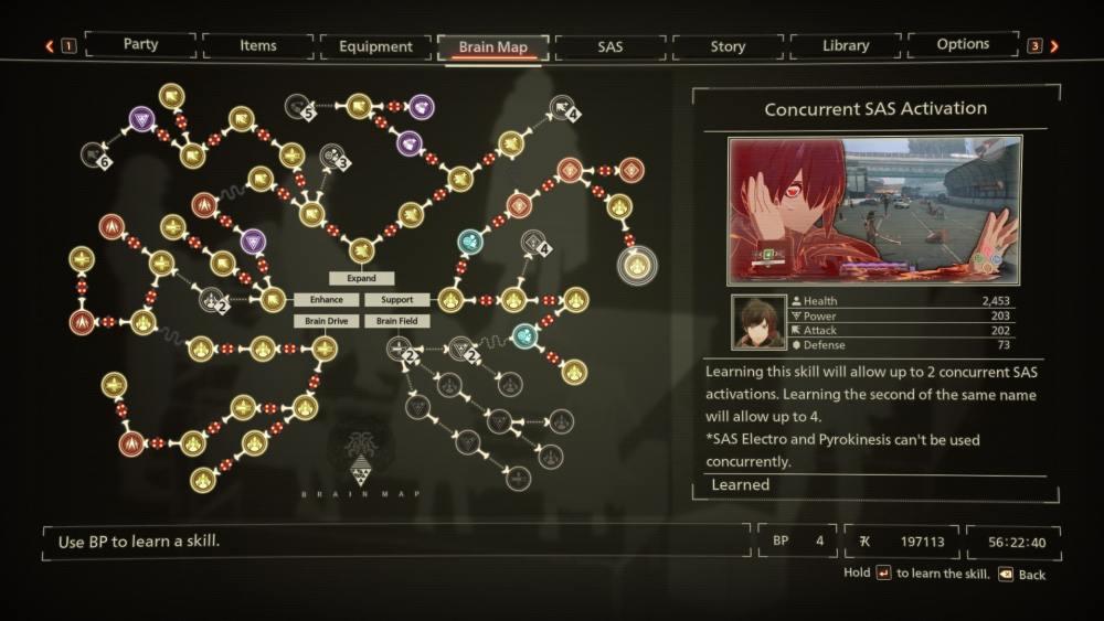Scarlet Nexus Best Skills
