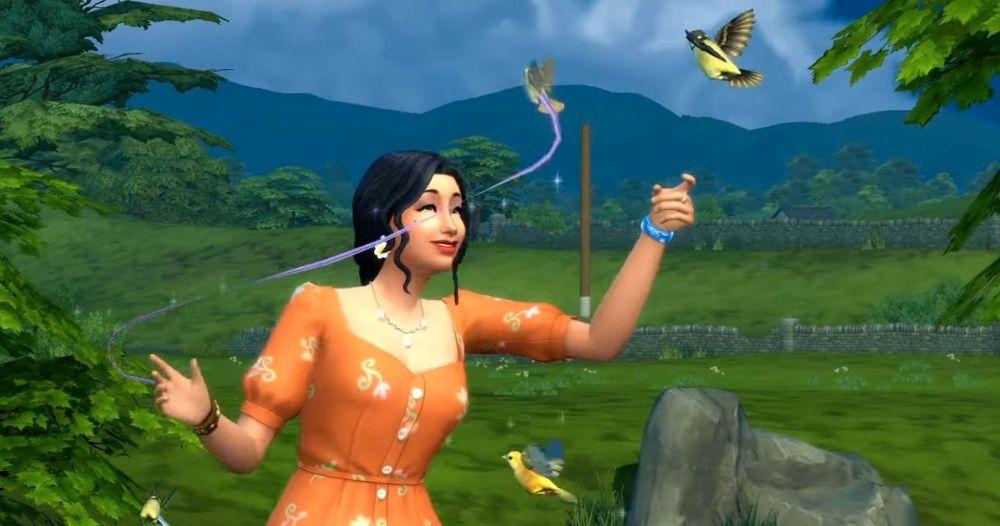 Sims 4 Birds